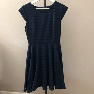 Royal Navy fit & flare short sleeved dress